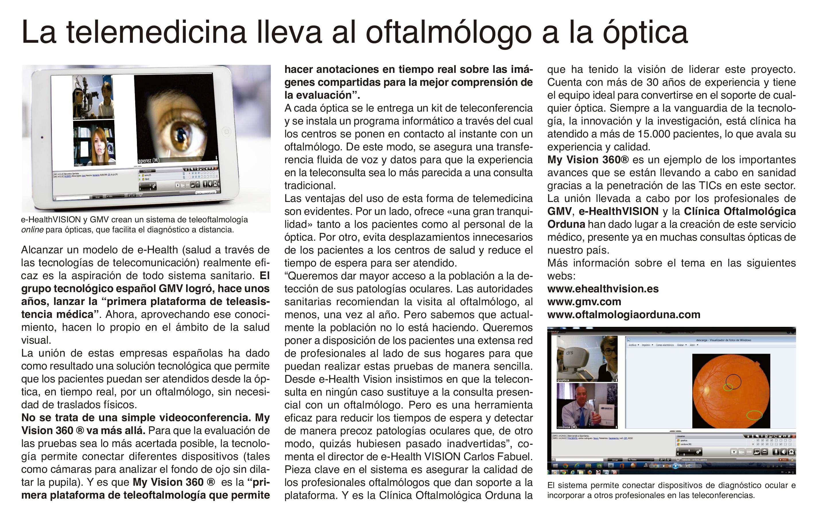 e-HealthVision y GMV